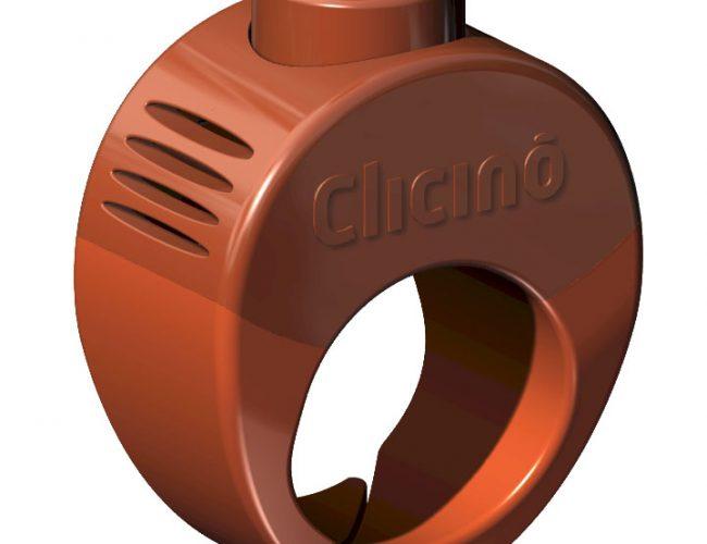 Clicino Clicker Ring Orange – Limited Edition